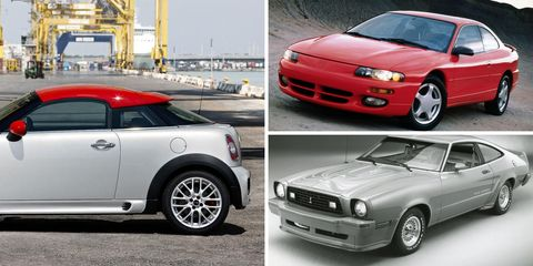 The 25 Coupes You Forgot Ever Existed