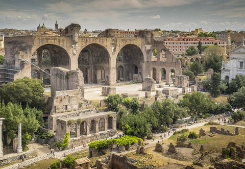Architecture, Landmark, Holy places, Ancient roman architecture, Building, Ancient history, Historic site, Ruins, Arch, History,