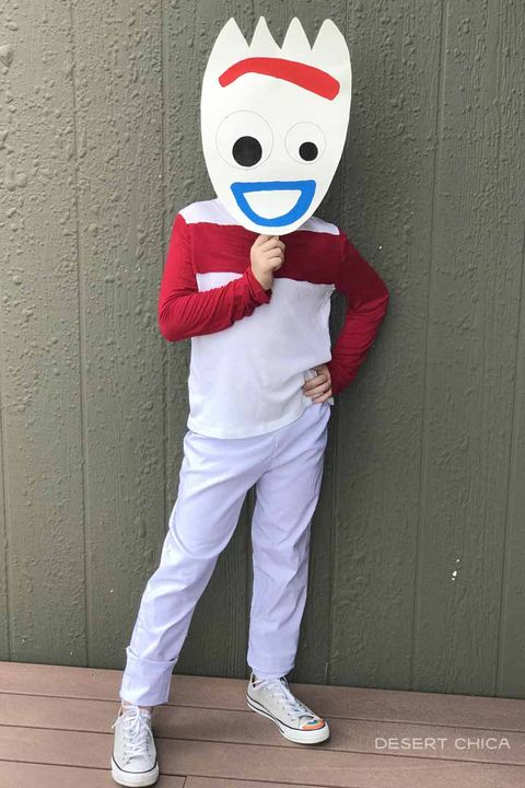 TV and Movie Character Halloween Costumes - Forky Toy Story 4 Halloween Costume