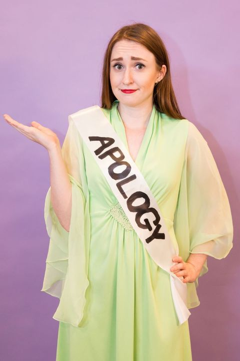 Image result for formal apology costume