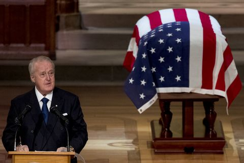 State Funeral Held For George H.W. Bush At The Washington National Cathedral