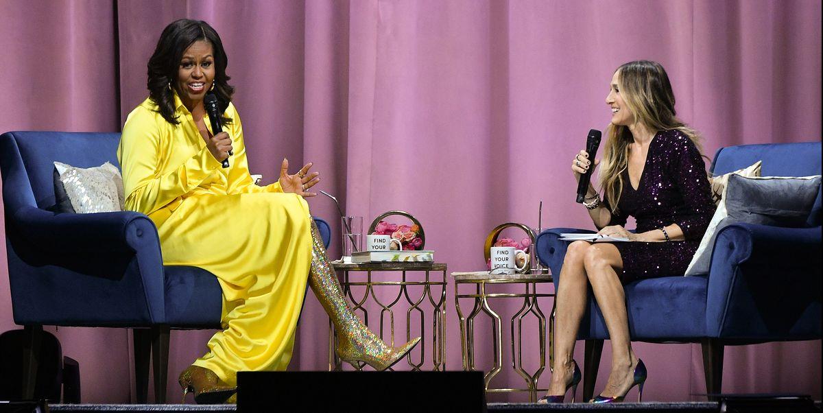 3b4c4eef I Pledge Allegiance to Michelle Obama's Sparkling Gold Balenciaga Boots