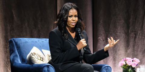 Michelle Obama Discusses Her New Book 'Becoming' With Moderator Valerie Jarrett