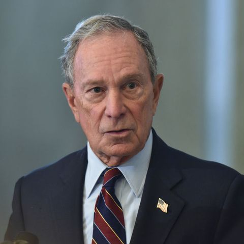 Former New York Mayor Michael Bloomberg visits Maryland Lawmakers in Annapolis