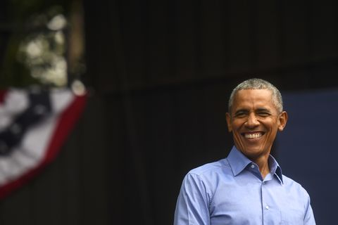 Barack Obama Attends Campaign Rally For Pennsylvania Democrats In Philadelphia