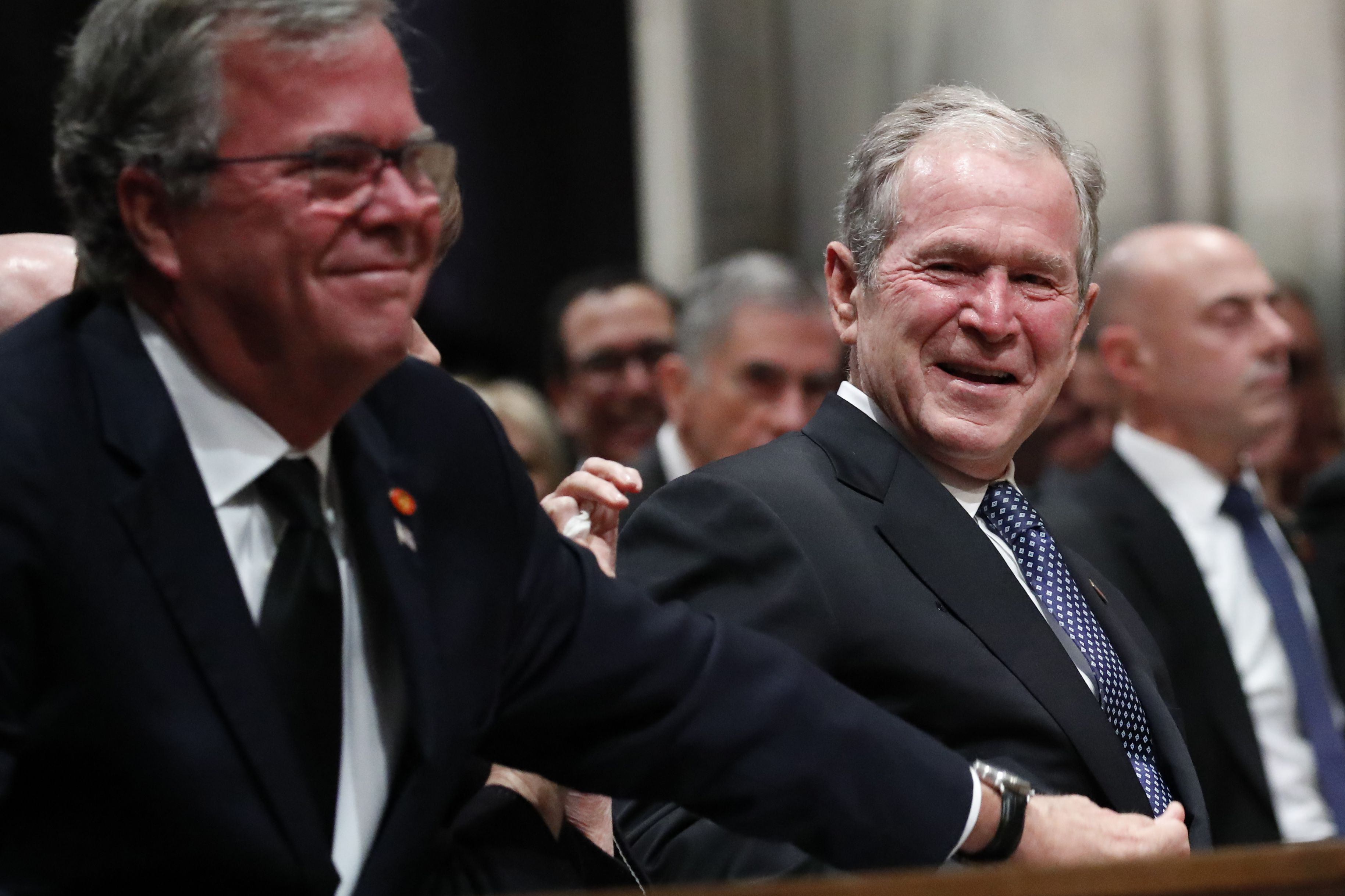 Bush na funerali