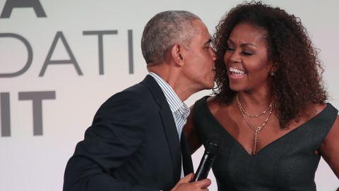 barack and michelle obama spreken bij obama foundation summit