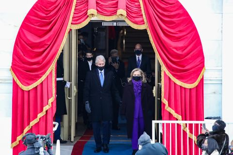 Why Hillary Clinton Wore Purple to the 2021 Inauguration