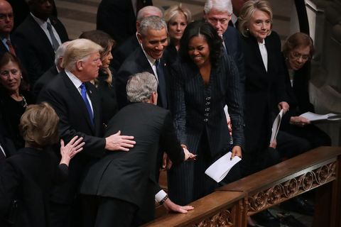 state funeral held for george hw bush at the washington national cathedral