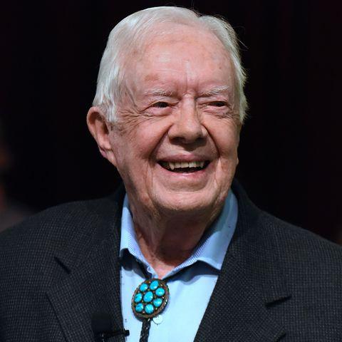Jimmy Carter Teaches Sunday School in Plains, Georgia