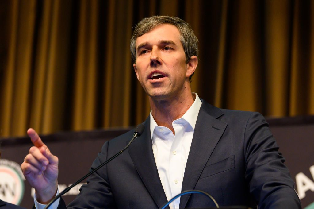 Former U.S. Representative Beto O'Rourke at the National...