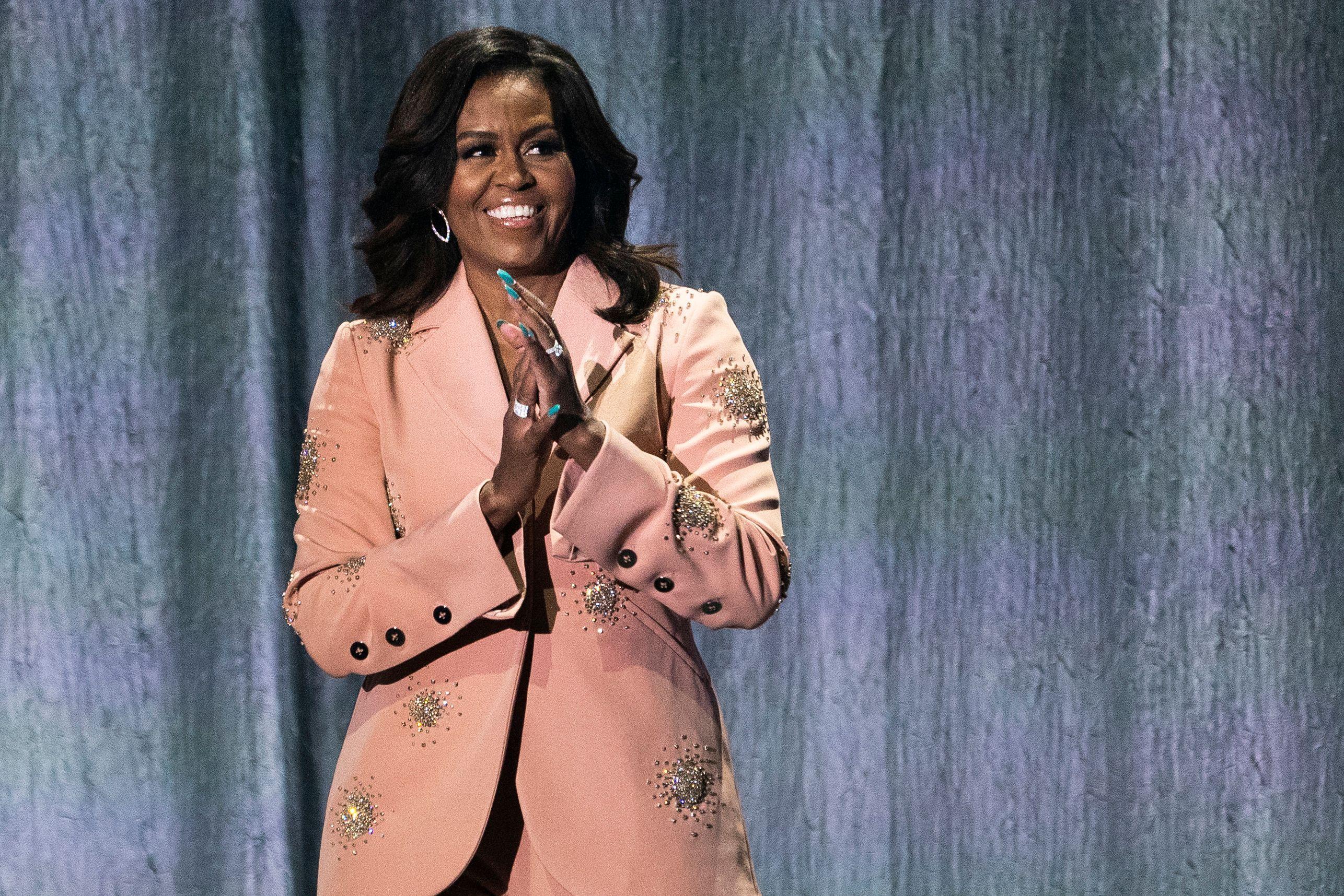 Michelle Obama won a Grammy last night