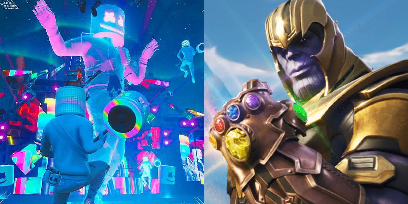 6 Best Fortnite Collaborations Since Marvel's Infinity War