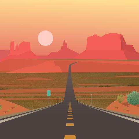 forrest gump point, monument valley, arizona
