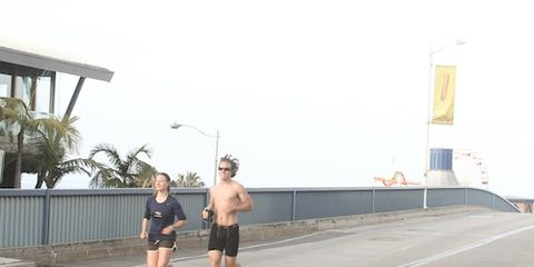Homage to Forrest Gump's Run Across the Country