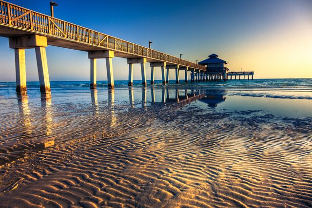 fort myers beach pier