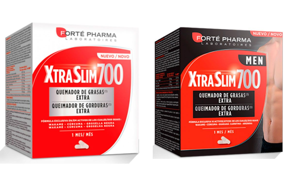 Descubre la gama XtraSlim 700 de Forté Pharma para controlar tu peso