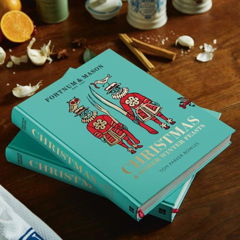 fortnum and mason christmas cookbook tom parker bowles camilla son