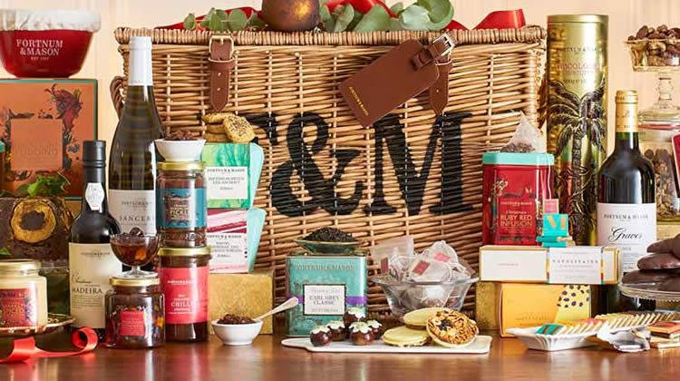 The best foodie Christmas hampers for 2019