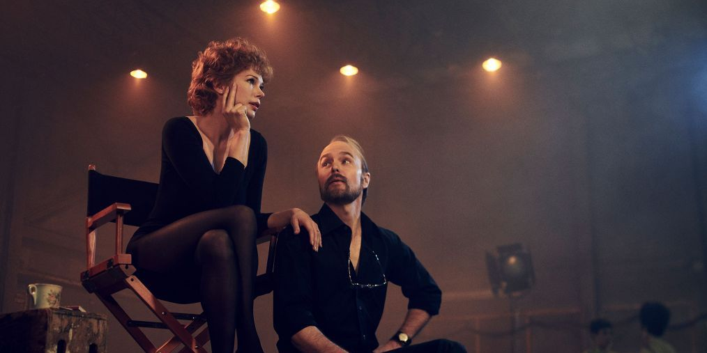 "Michelle Williams y Sam Rockwell en ""Fosse/Verdon"""