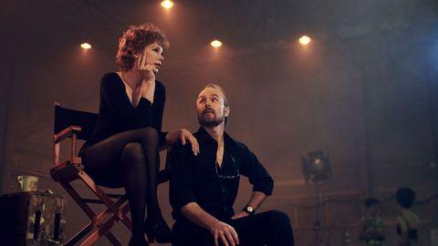 "Michelle Williams y Sam Rockwell en ""Fosse/Verdon"""