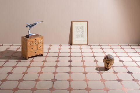 Piastrelle decorate 16 novit per l 39 arredo bagno - Elemento a elle piastrelle ...