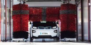 lavado coche electrico