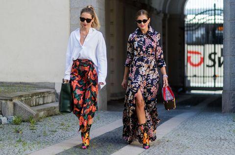 Clothing, Street fashion, Fashion, Outerwear, Dress, Footwear, Eyewear, Design, Textile, Fashion model,