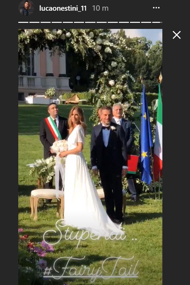 Matrimonio Filippa Lagerback : Filippa lagerback e daniele bossari matrimonio le foto