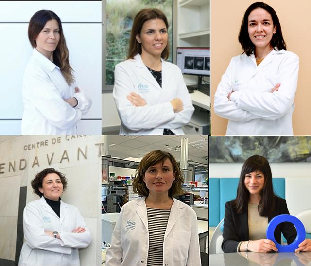científicas becadas por la fundación fero en la lucha contra el cáncer