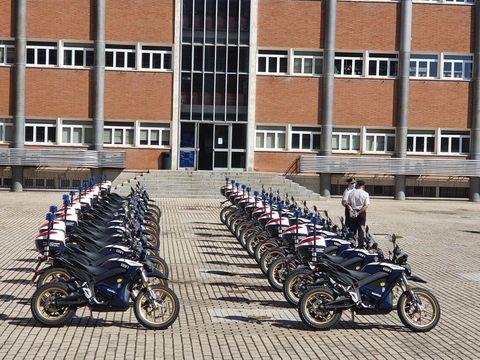 motos eléctricas policía nacional