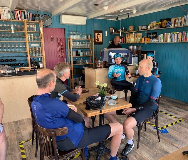 fausto nieuw lid van de bicycling club