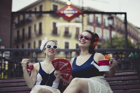 Fun, Clown, Glasses, Sunglasses, Smile, Eyewear, Tourism, Mime artist, Vacation, Performing arts,