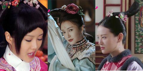 Hair, Headpiece, Hairstyle, Hair accessory, Shimada, Human, Fashion accessory, Tradition, Black hair, Headgear,