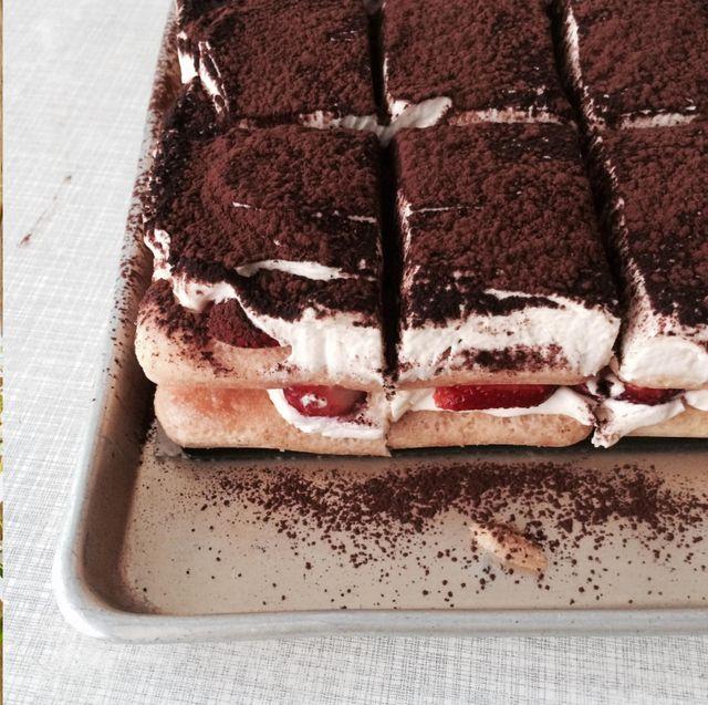 Food, Cuisine, Semifreddo, Dish, Tiramisu, Dessert, Ingredient, Mascarpone, Frozen dessert, Chocolate cake,