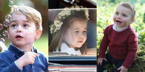 ケンブリッジ公爵家のキッズたちが見せる、愛らしいスイートモーメント