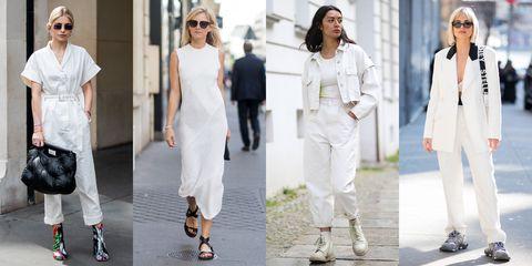 【穿搭筆記】穿白色顯胖那是你不會穿!夏日純白造型靈感推薦 整個人亮一階!