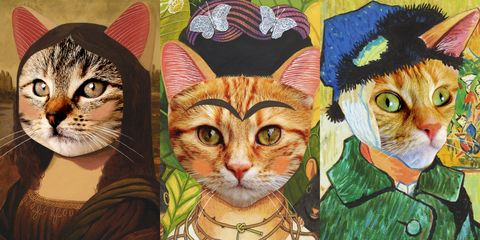 貓・美術館《走進貓次元》線上開展!《貓娜麗莎》、《戴珍珠耳環的少女貓》全面啟「動」