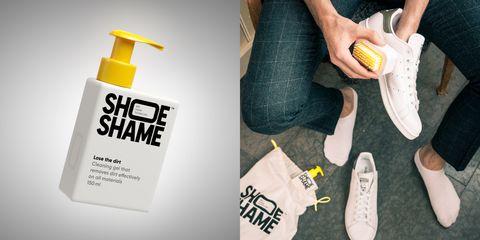 在家當洗鞋大王!白鞋救星SHOE SHAME 使用方法超簡單 手殘也能輕鬆上手