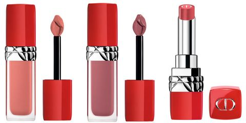 Red, Lipstick, Cosmetics, Pink, Beauty, Lip, Lip gloss, Lip care, Material property, Tints and shades,