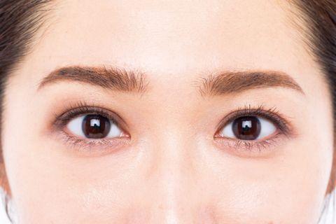 完妝後就是美人,長井香織,大人的化妝術,KAORI NAGAI,日本彩妝,彩妝教學,修飾,大小眼,棕色眼影,橘色眼影,浮腫,beauty