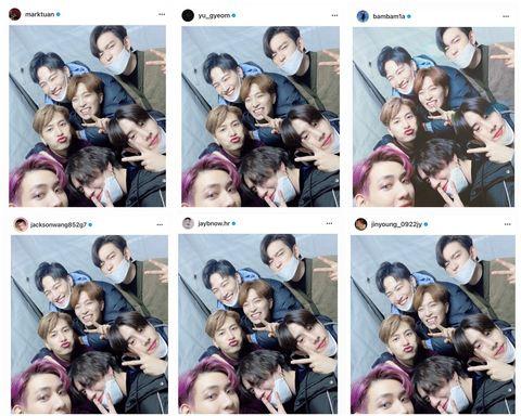 got7正式結束與jyp 6年合約各奔東西 成員發照片逼哭粉絲