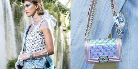 Clothing, Street fashion, Lavender, Fashion, Shoulder, Dress, Summer, Textile, Fashion accessory, Jeans,