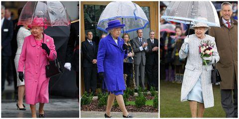 英國女王, 皇室, 雨傘, Fulton, 鳥籠傘
