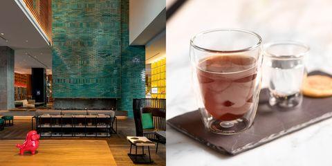 Drink, Glass, Table, Distilled beverage, Interior design, Liqueur,