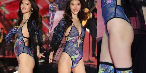 Clothing, Thigh, Bikini, Lingerie, Leg, Model, Swimwear, Leotard, Undergarment, Event,