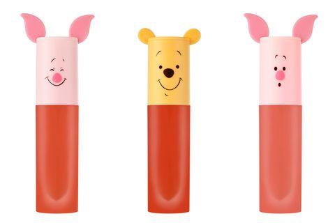 Etude House,韓國彩妝,唇釉,小熊維尼,小豬,跳跳虎,腮紅,Happy with Piglet,聯名彩妝,氣墊粉餅,beauty