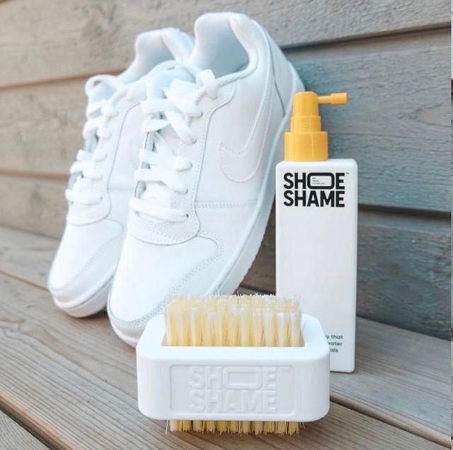 白球鞋清潔方法