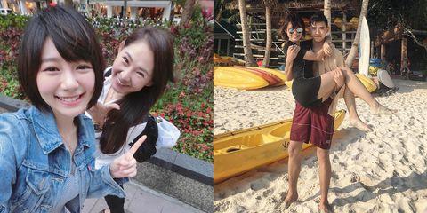 Photograph, Yellow, Snapshot, Fun, Friendship, Selfie, Photography, Vacation, Smile, Summer,