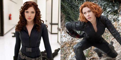 Fictional character, Superhero, Black widow, Avengers, Brown hair,